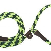 "3/8"" LEASH PP RIBBON 6' MT GRN"