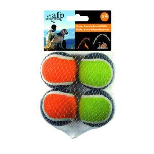AFP SUPER BOUNCE TENNIS BALL 4P