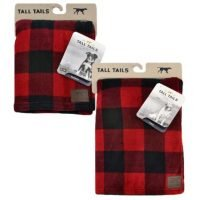 DOG BLANKET PLAID 40X60