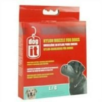 DOGIT NYLON DOG MUZZLE BLACK