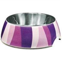 DOGIT STYLE DOG BOWL PURPLE WILD S