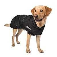 GO FRESH PET DOG JACKET - BLACK