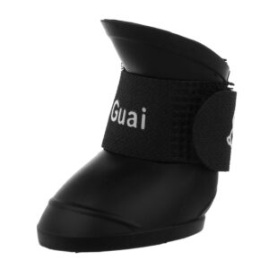 rubber dog boots