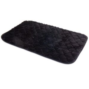 SNOOZZY DOG BED BLACK