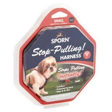 SPORN DOG HALTER BLACK