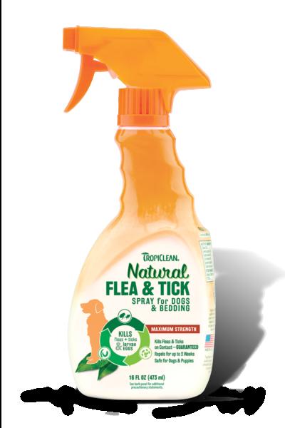 TROPICLEAN TICK FLEA DOG SPRAY